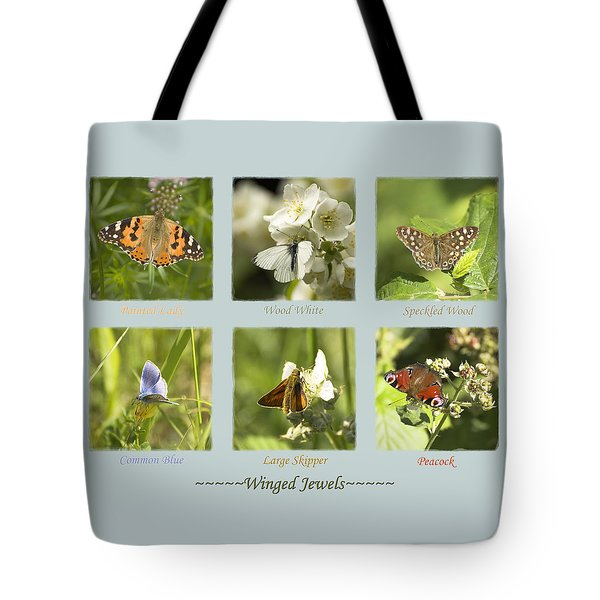 Winged Jewels Tote Bag