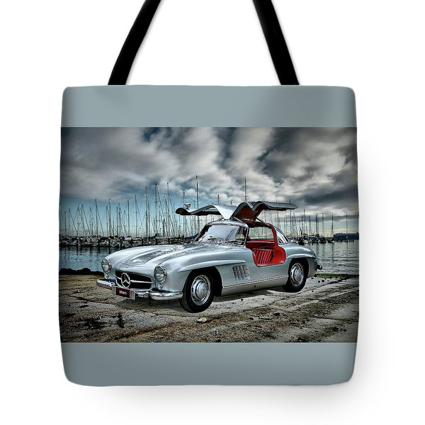 Winged Merc Tote Bag by Steven Agius