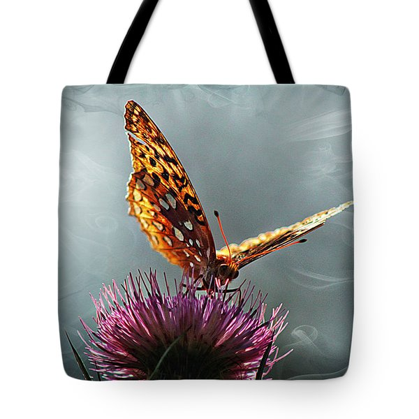 Tote Bag featuring the photograph Winged Things by Jessica Brawley
