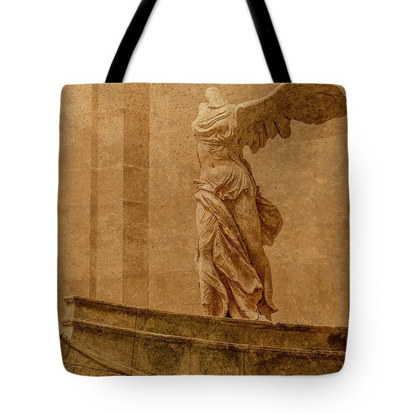 Paris, France - Louvre - Winged Victory Tote Bag