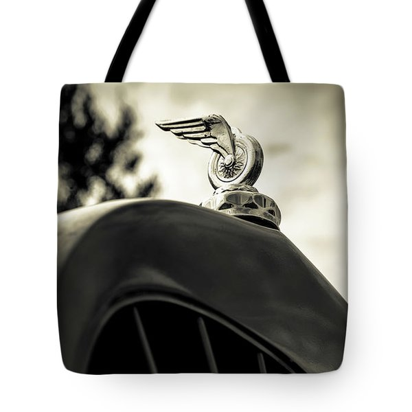 Winged Wheel Tote Bag by Caitlyn Grasso