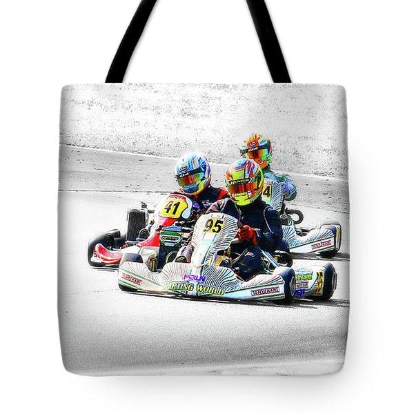 Wingham Go Karts 04 Tote Bag