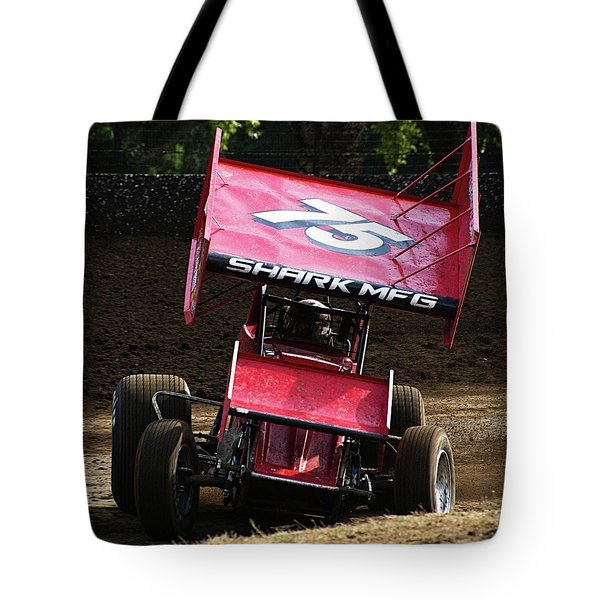 Wingin' It Into The Turn Tote Bag