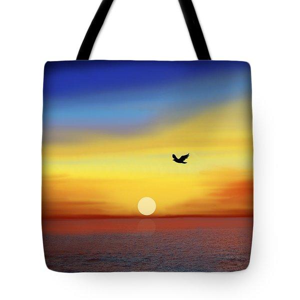 Winging Home Tote Bag