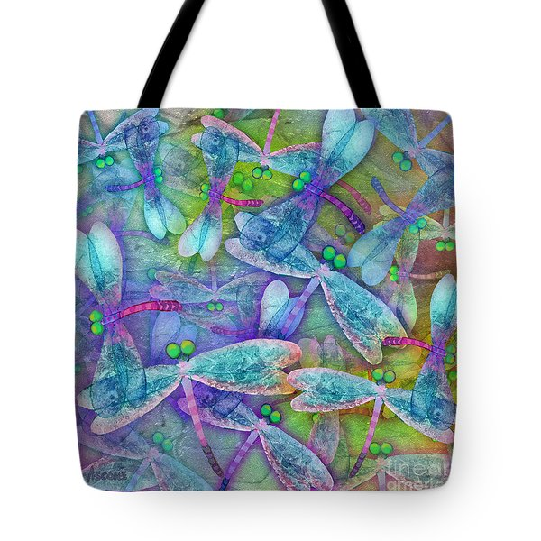 Wings Large In Square Format Tote Bag