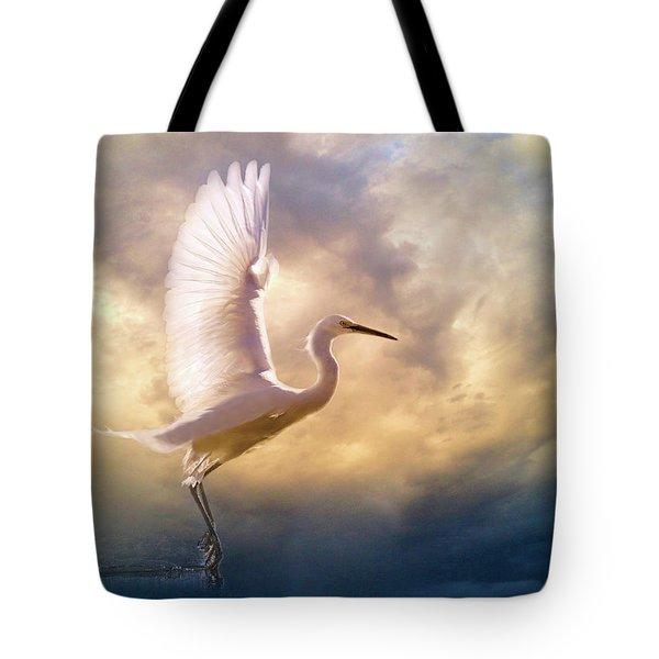 Wings Of Light Tote Bag