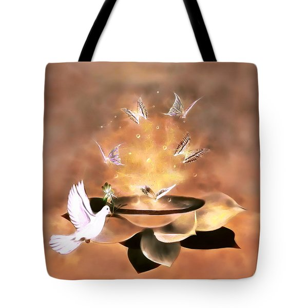 Wings Of Magic Tote Bag