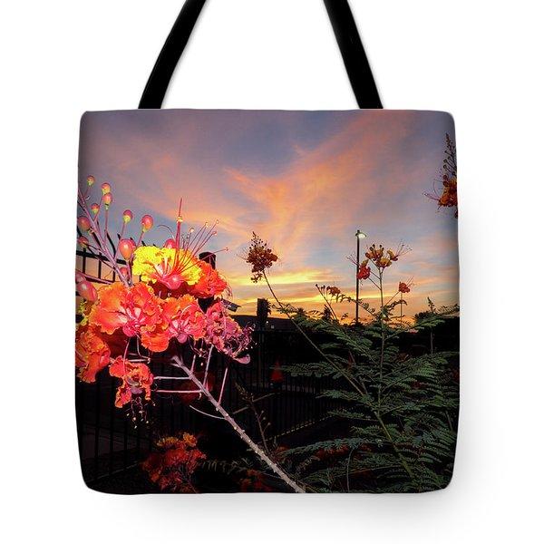 Wings Of Paradise Tote Bag