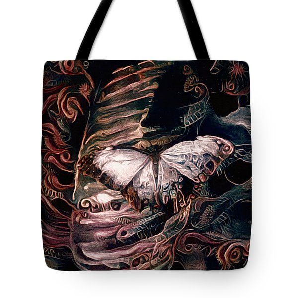 Wings Of The Night Tote Bag