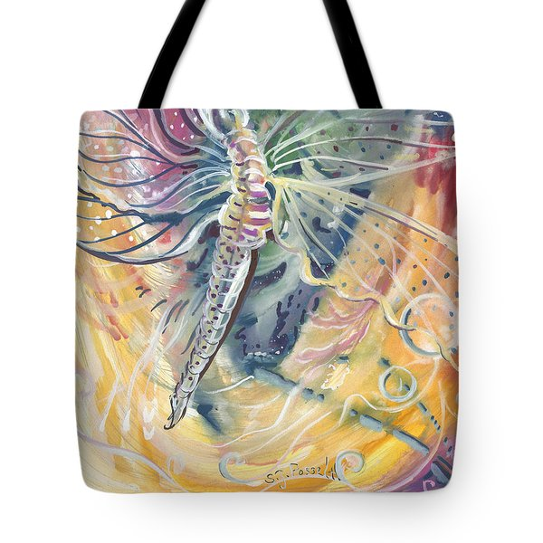 Wings Of Transformation Tote Bag