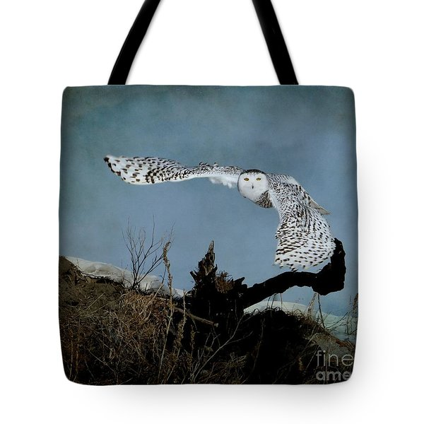 Wings Of Winter Tote Bag