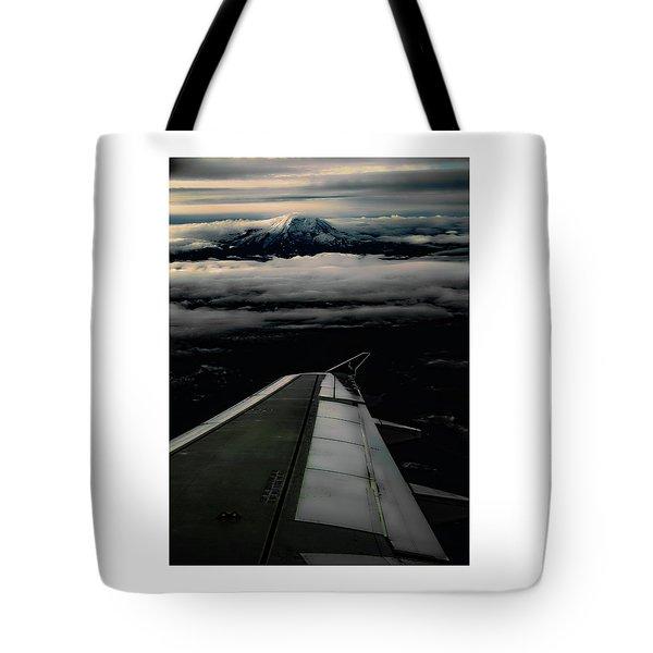 Wings Over Rainier Tote Bag