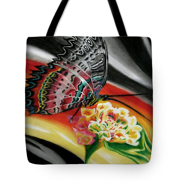 Tote Bag featuring the painting Transforming Winds     by Peter Piatt