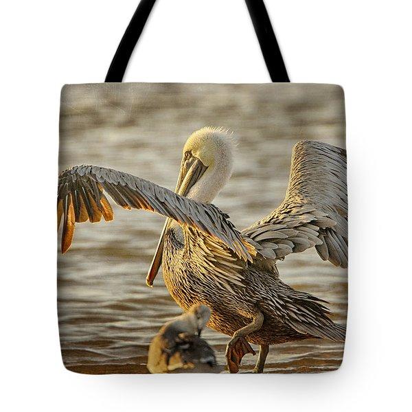 Wings Spread Tote Bag