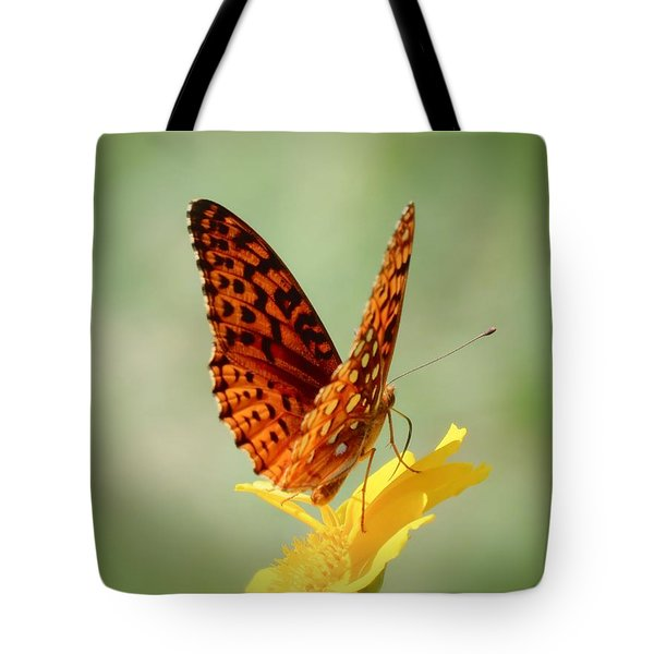 Wings Up - Butterfly Tote Bag