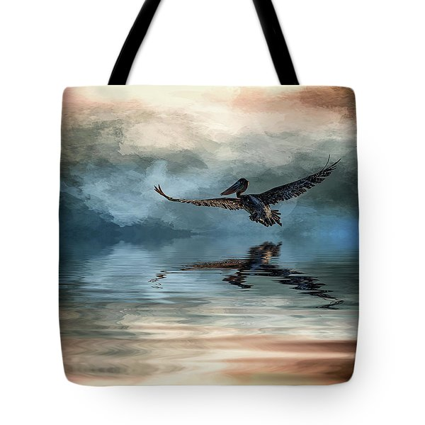 Wings Up Tote Bag by Cyndy Doty