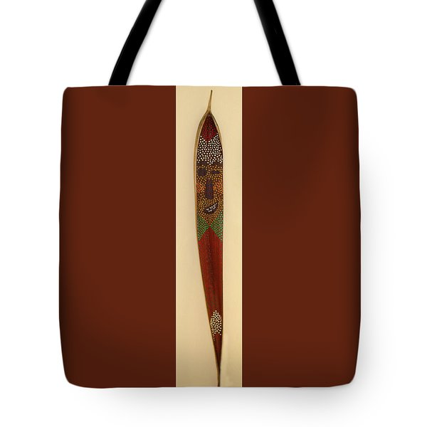 Winky The Palm Frond Tote Bag by Deborah Boyd