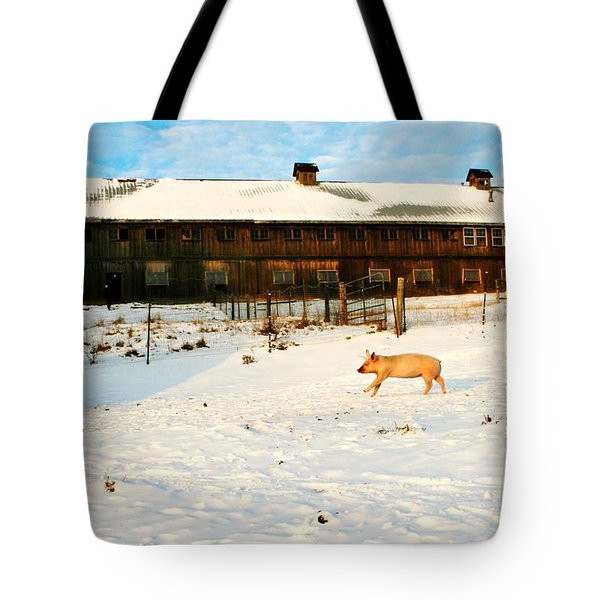 Winnie At Heartland Farm Sanctuary Tote Bag