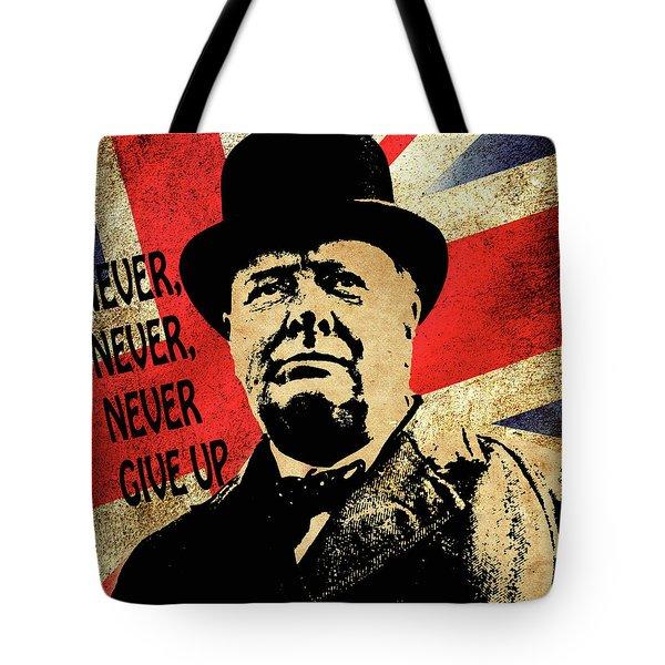 Winston Churchill 2 Tote Bag