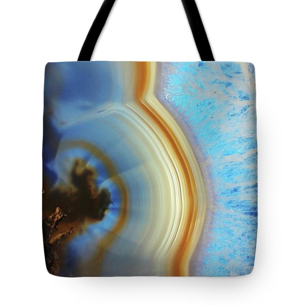 Winter Agate Tote Bag