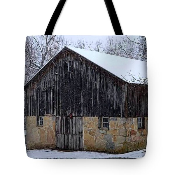 Winter Arrival Tote Bag