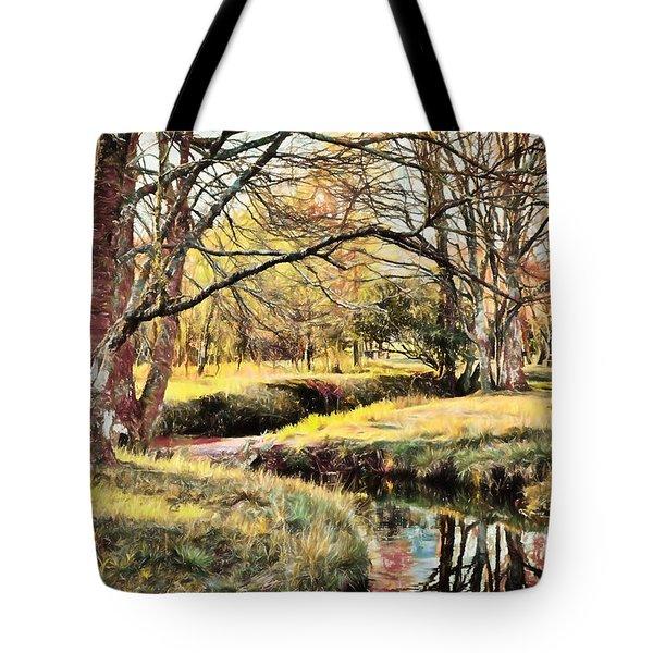 Winter Artistry Ap Tote Bag