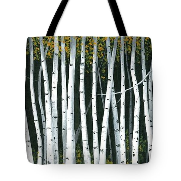 Winter Aspen 3 Tote Bag