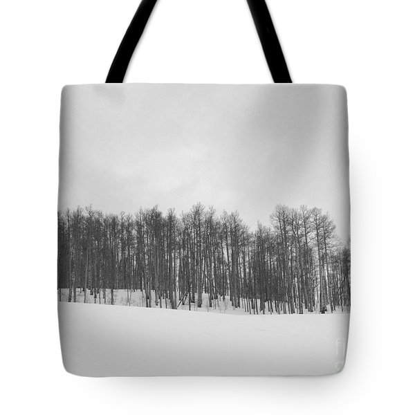 Winter Aspen Tote Bag