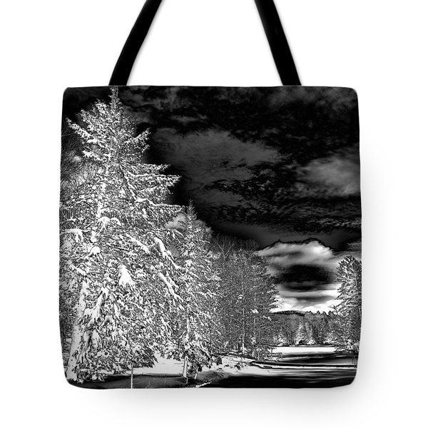 Winter At The Beaver Brook Outlet 2 Tote Bag