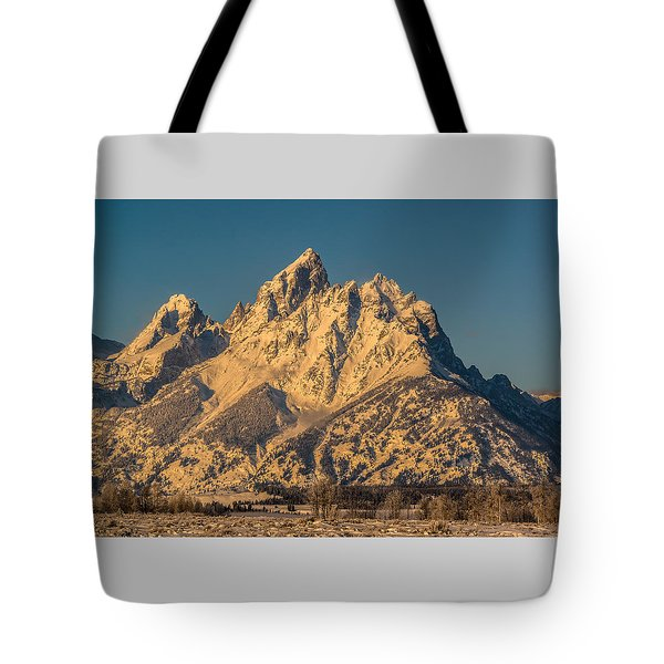 Winter At The Grand Tote Bag by Yeates Photography