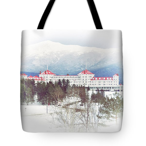 Winter At The Mt Washington Hotel 2 Tote Bag