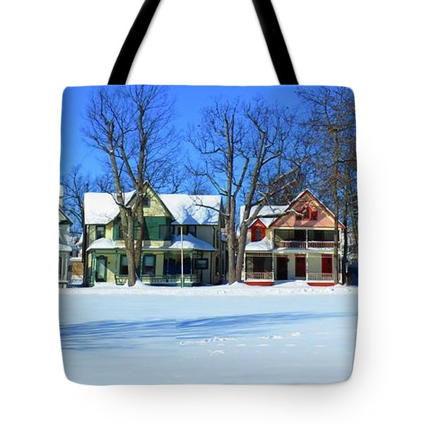 Winter At Ti Park Tote Bag