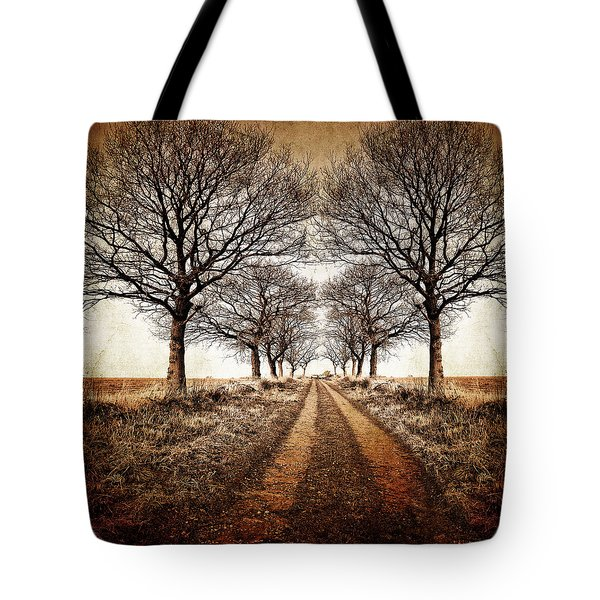 Winter Avenue Tote Bag by Meirion Matthias