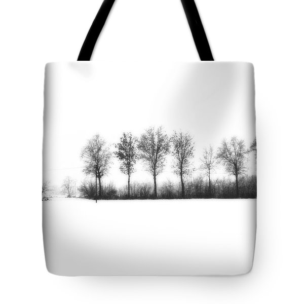 Winter Bareness Tote Bag by Silvia Ganora