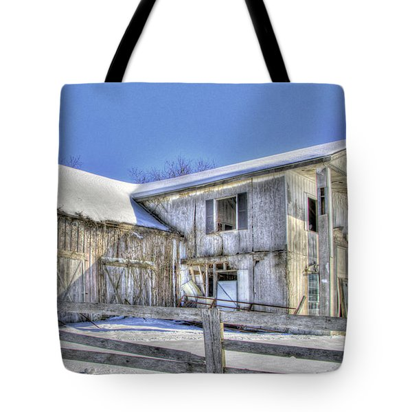 Winter Barn 2 Tote Bag