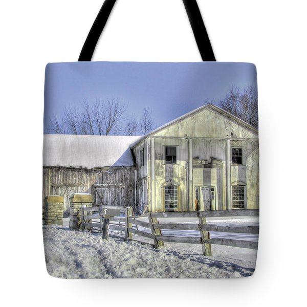 Winter Barn 3 Tote Bag