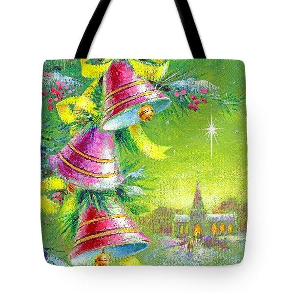 Winter Bells Tote Bag