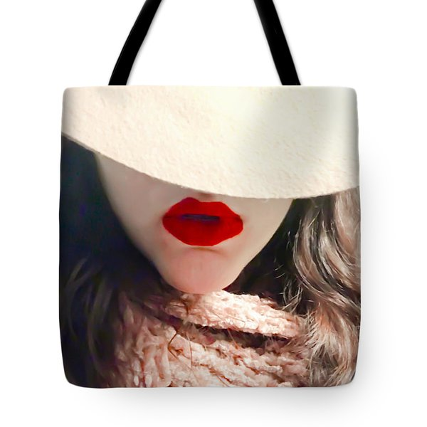 Winter Blush Tote Bag