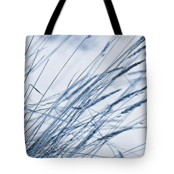 Winter Breeze Tote Bag by Priska Wettstein