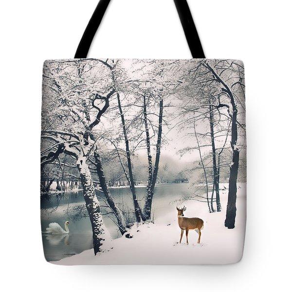 Winter Calls Tote Bag