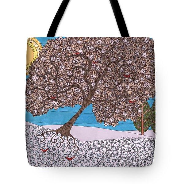 Winter Calm Tote Bag