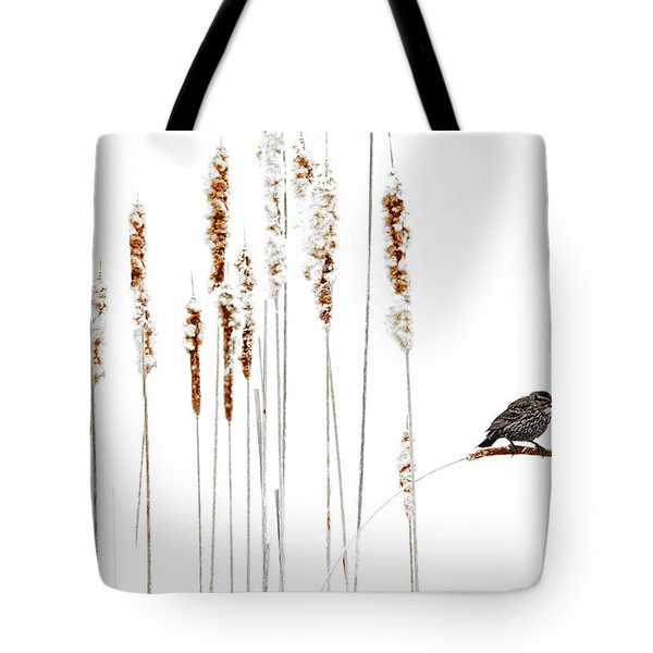 Winter Came Suddenly Tote Bag