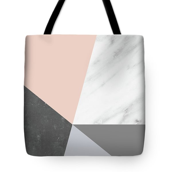 Winter Colors Collage Tote Bag