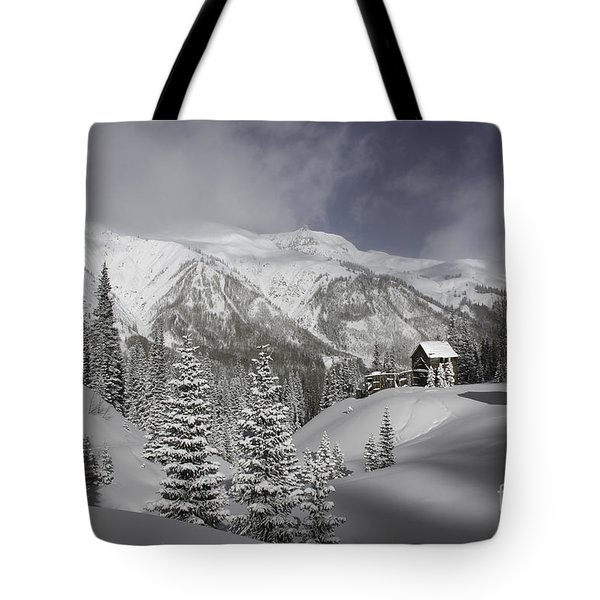 Winter Comes Softly Tote Bag