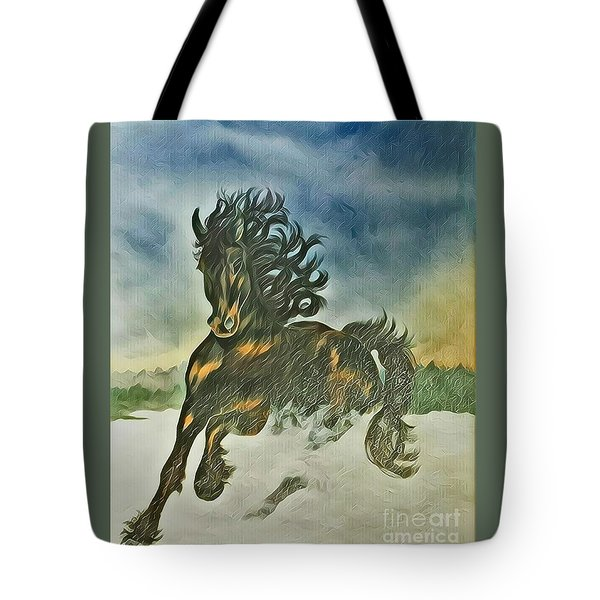 Winter Dance Tote Bag