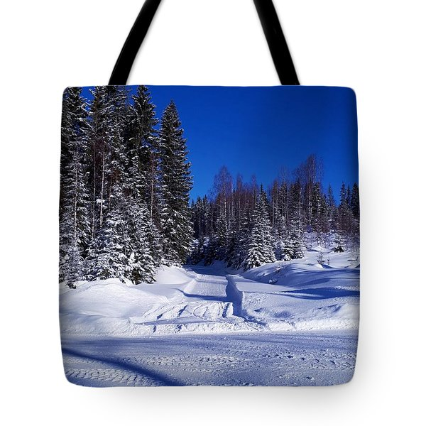 Winter Day Tote Bag