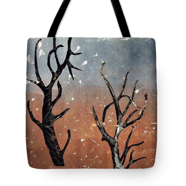 Winter Day Tote Bag by Sarah Loft
