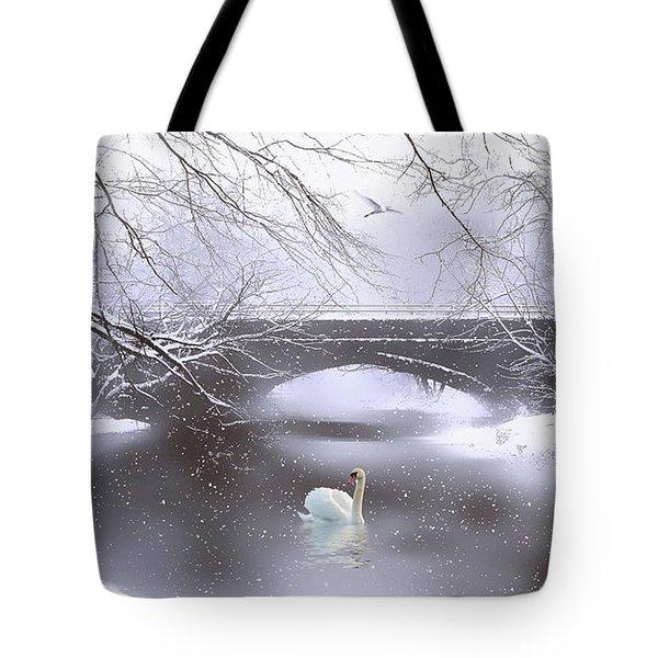 Winter Dreaming Tote Bag