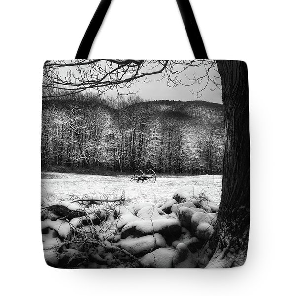 Tote Bag featuring the photograph Winter Dreary by Bill Wakeley
