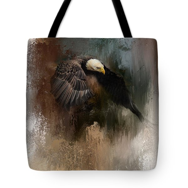 Winter Eagle 2 Tote Bag